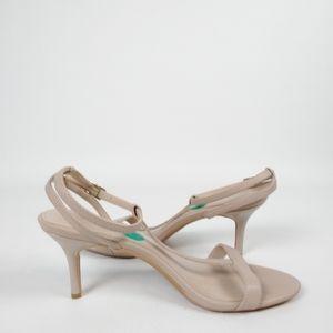 Calvin Klein Nude Lola Open Toe Strappy Heel Sz 8